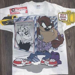 Looney toon vintage Tazz T